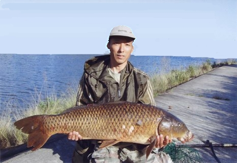 108cmの鯉(河の主?)